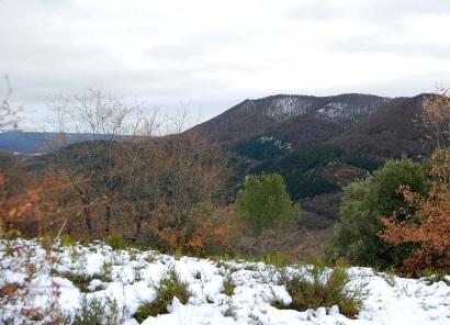 Desde Montes de Vitoria (enero 2013)