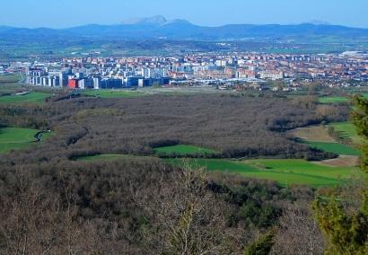 Desde Montes de Vitoria (abril 2013)