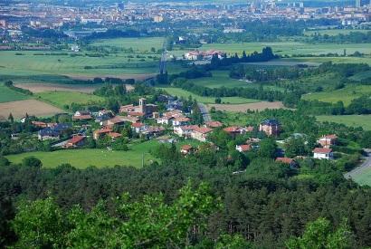 Desde Montes de Vitoria (junio 2013)