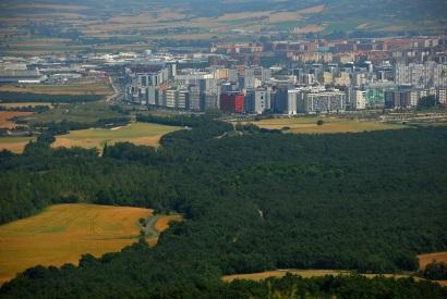 Desde Montes de Vitoria (julio 2013)