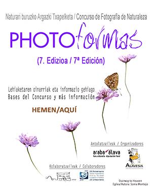 PHOTOFORMAS 7º Concurso de Fotografía de la Naturaleza